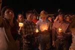 Стрельба в Техасе: видео с места трагедии и бдение в память о жертвах