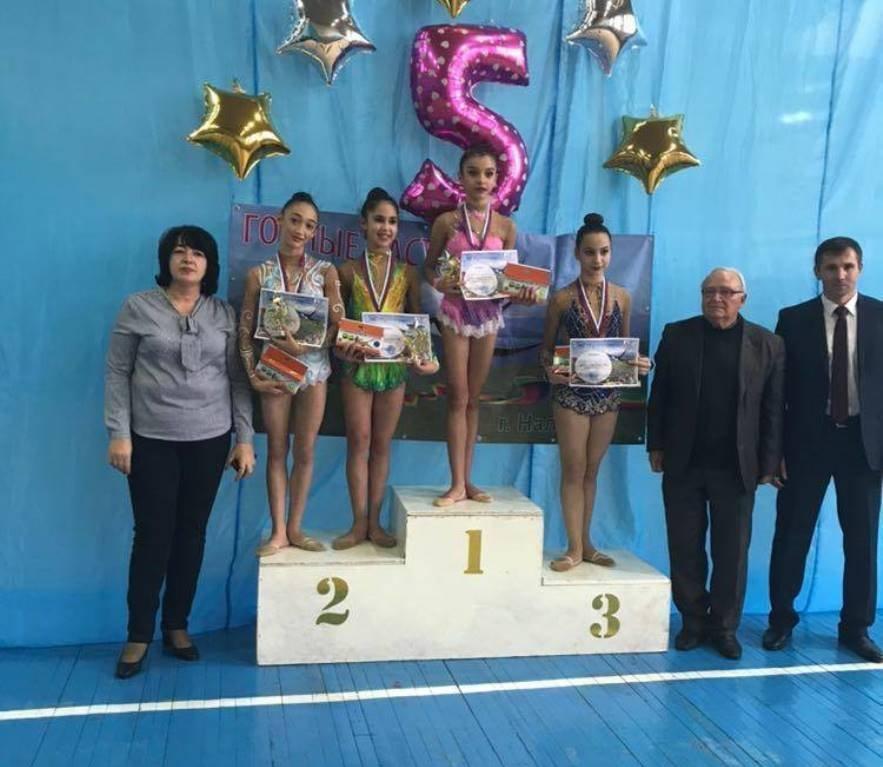 Гимнастки из Южной Осетии завоевали золотые медали в Нальчике