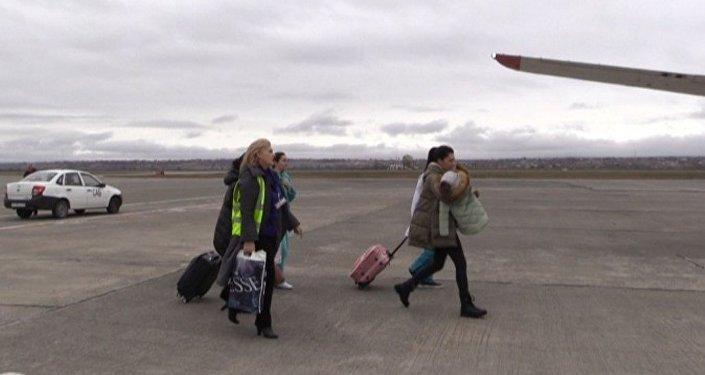 Трехлетняя девочка из Северной Осетии спецбортом МЧС России доставлена из Владикавказа в Тюмень