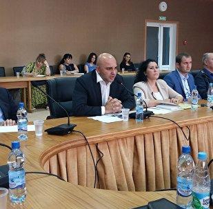 Круглый стол в Цхинвале, посвященный России как гаранту стабильности в Южной Осетии