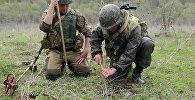 Разминирование учебных полигонов  в Южной Осетии