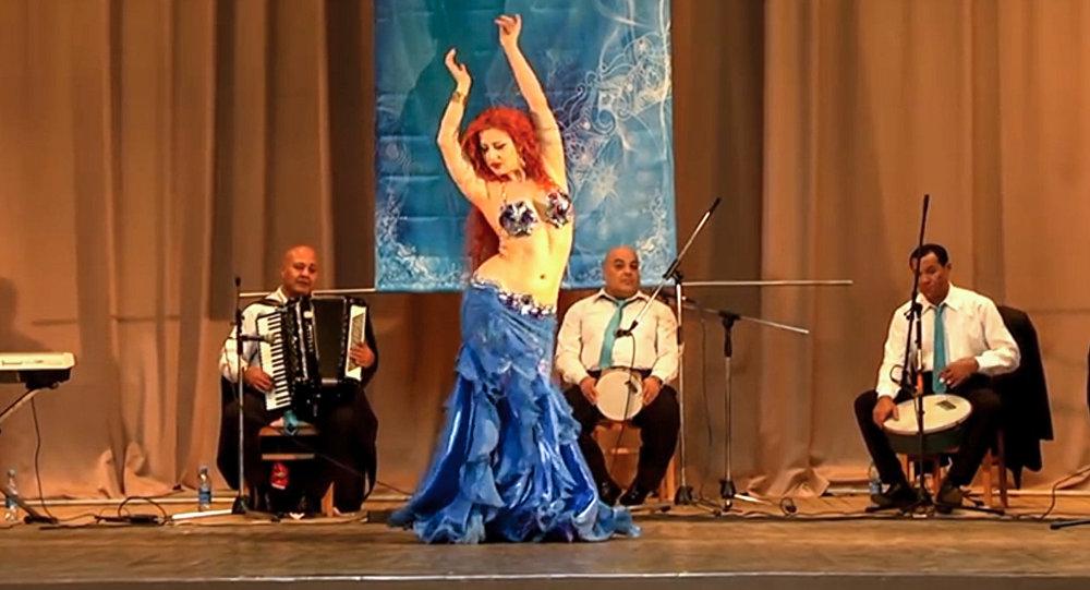 Оксана Базаева стала лучшей исполнительницей восточного танца