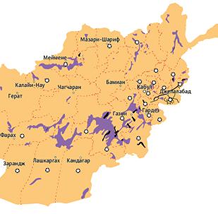 Афганистан после ввода войск ISAF  с 2001 года по 2017