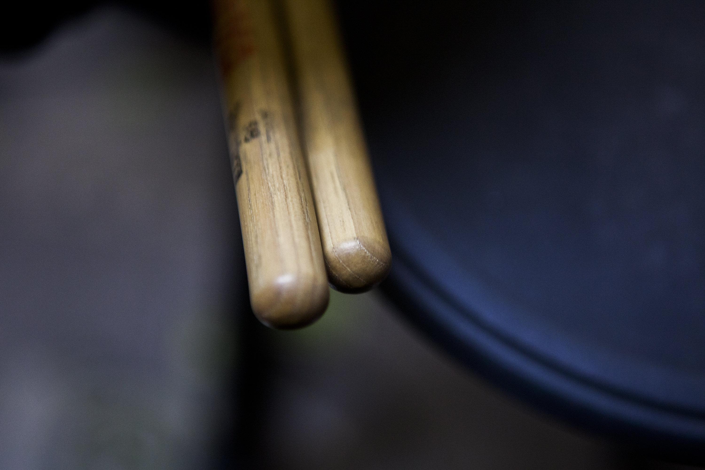 Барабанные палочки.