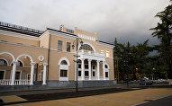 Здание театра в Цхинвале