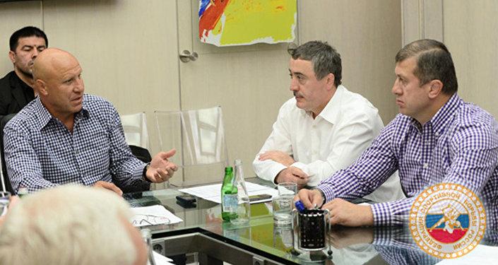 Борцы-вольникиРФ завоевали 4 золота настарте интернационального турнира воВладикавказе