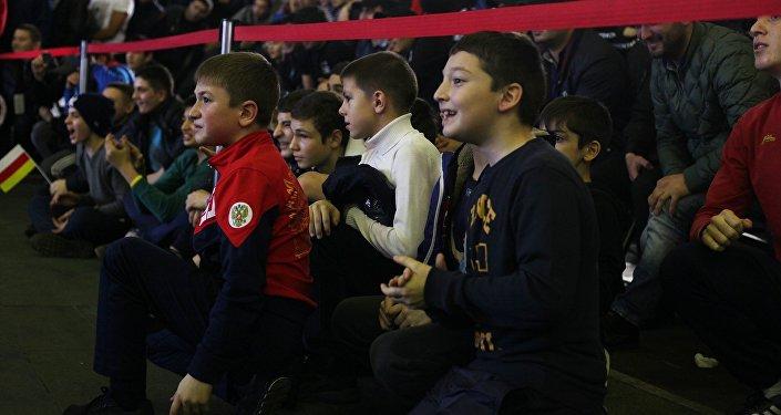 Борцы изрегионов Северного Кавказа выиграли 4 золотые медали интернационального турнира