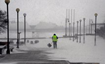 Снежный циклон во Владивостоке