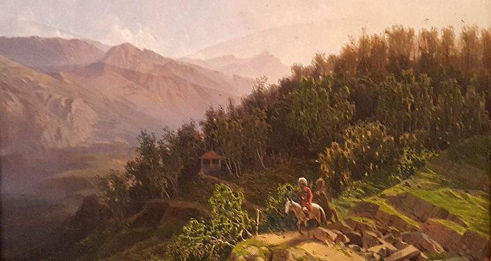 Место взятия Шамиля. Выставка Толстой. Дагестан. Хаджи-Мурат. Галерея Ясная Поляна.