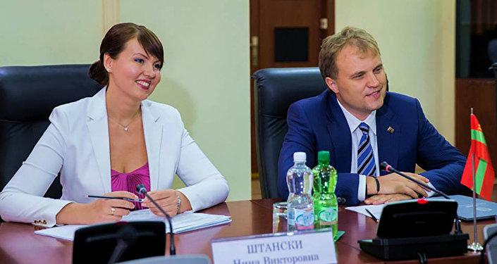Евгений Шевчук ӕмӕ Нина Штански