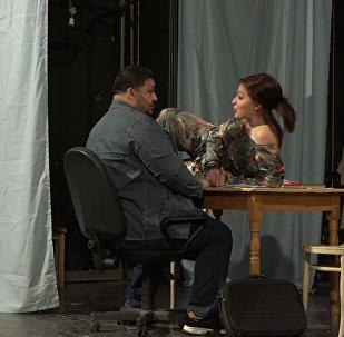 Репетиция театра: приключения итальянца в Цхинвале