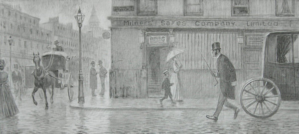 Иллюстрация к произведению Артура Конан-Дойла Пестрая лента. Художник Тигран Кайтмазов