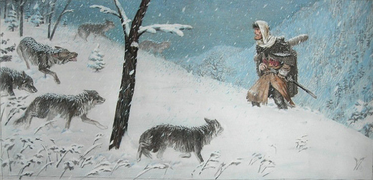 Встреча. Художник Тигран Кайтмазов