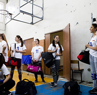 Президент Бибылты Анатолийы финансон хӕрдзтӕй чызджыты командӕ волейболӕй ифтонг ӕрцыд спортивон дарӕсӕй
