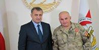 Награждение защитников Южной Осетии