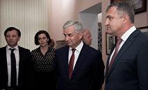 Президенты посетили музей Боевой Славы имени Владислава Ардзинба