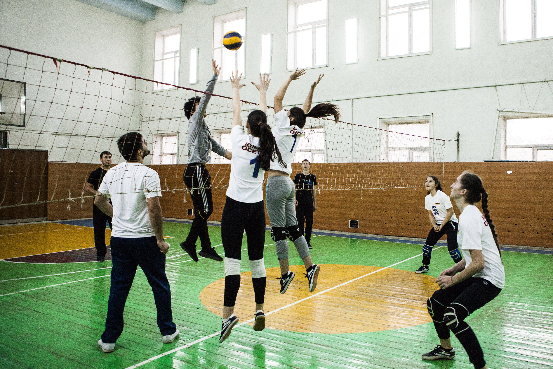 Новая форма для женской волейбольной сборной