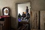 Освобожденный город Тадеф в сирийской провинции Алеппо