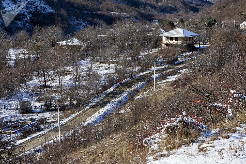 Скачки в Джерском ущелье