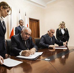 Подписание соглашений между министерствами здравоохранения РЮО и РА