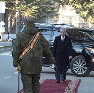 Визит Хаджимба: где побывал и с кем встретился в Цхинвале президент Абхазии