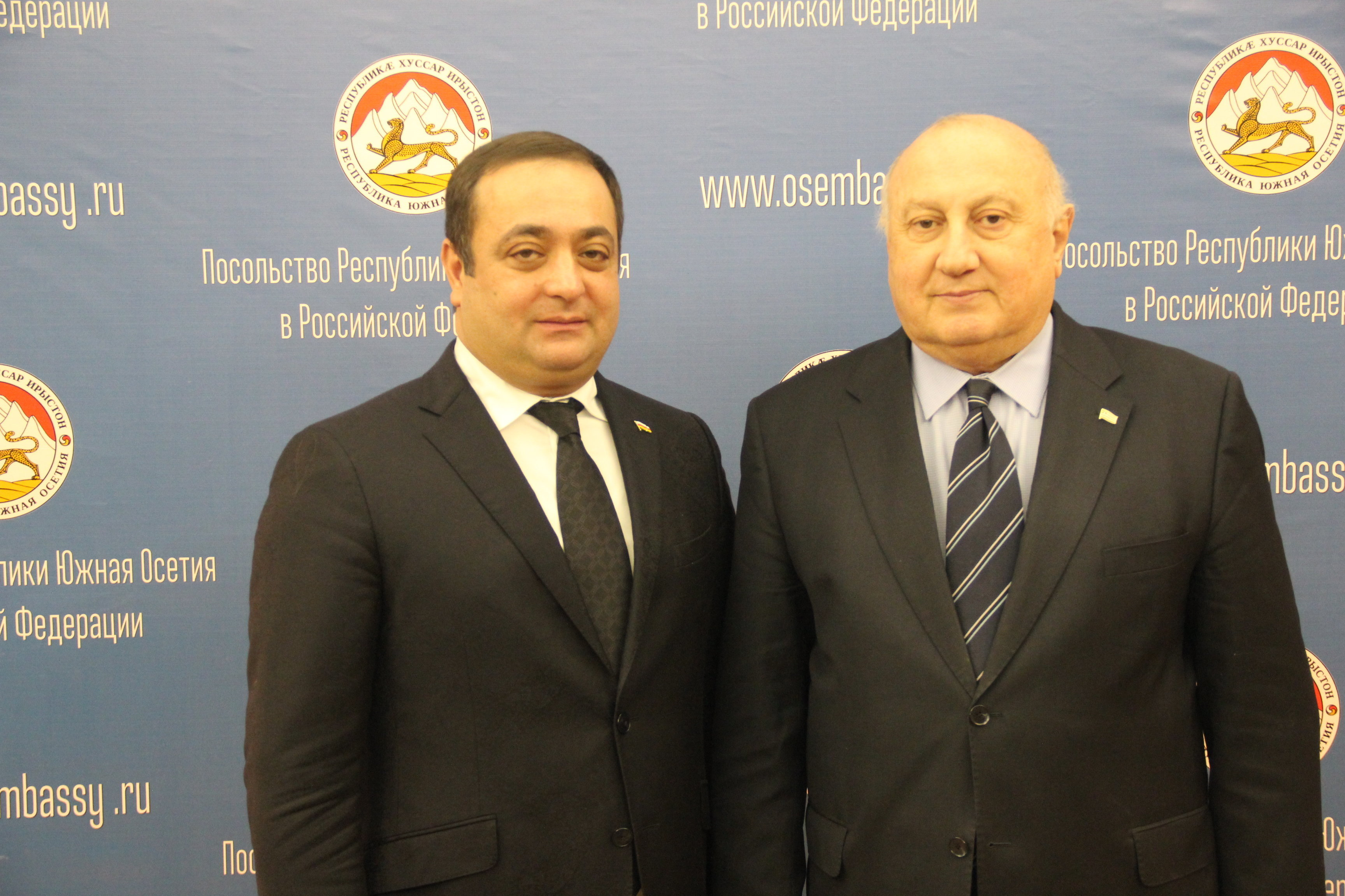 Знаур Гассиев и Игорь Ахба