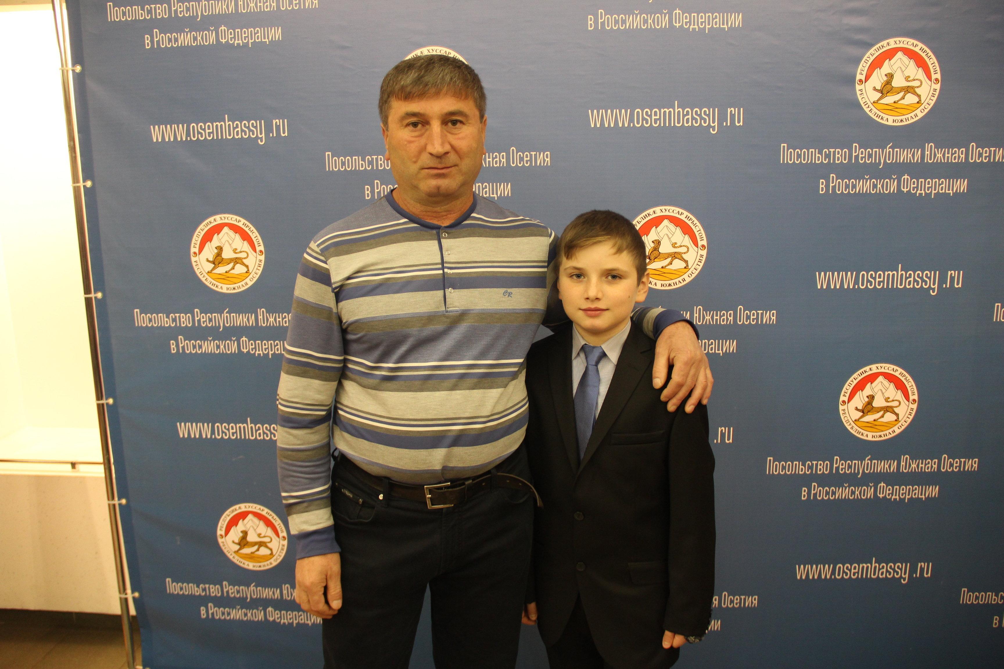 Алим Маргиев с отцом