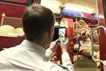 В столичном метро появился поезд, посвященный истории чемпионатов мира по футболу