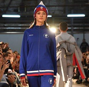 Показ экипировки Олимпийской команды и casual-коллекции бренда ZASPORT