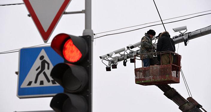 Комплекс автофиксации нарушений ПДД в Новосибирске