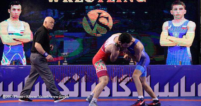 Георгий Тибилов - серебряный призер Кубка мира по греко-римской борьбе среди юниоров