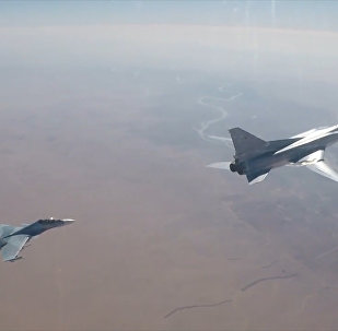 Бомбардировщики Ту-22М3 атаковали позиции боевиков в Сирии