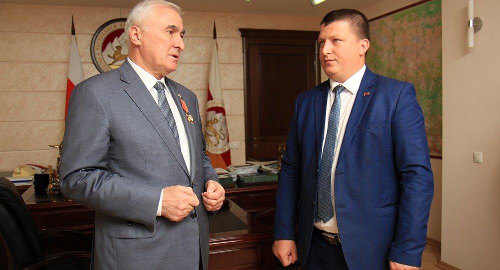 Президент æртыццæджы йæхимæ райста приднестроваг делегацийы.