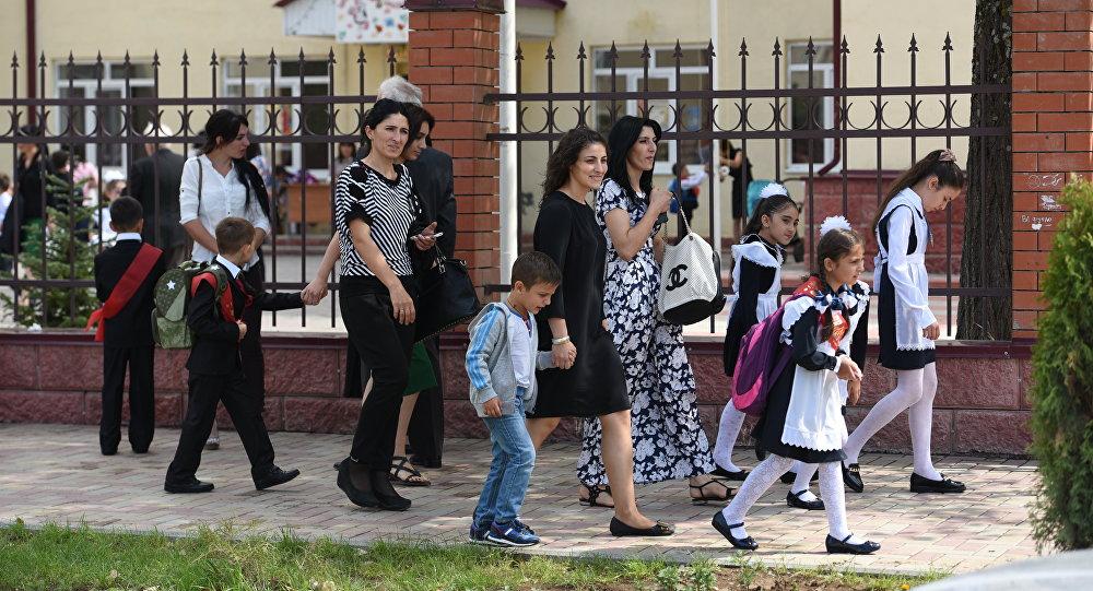1 сентября в Южной Осетии