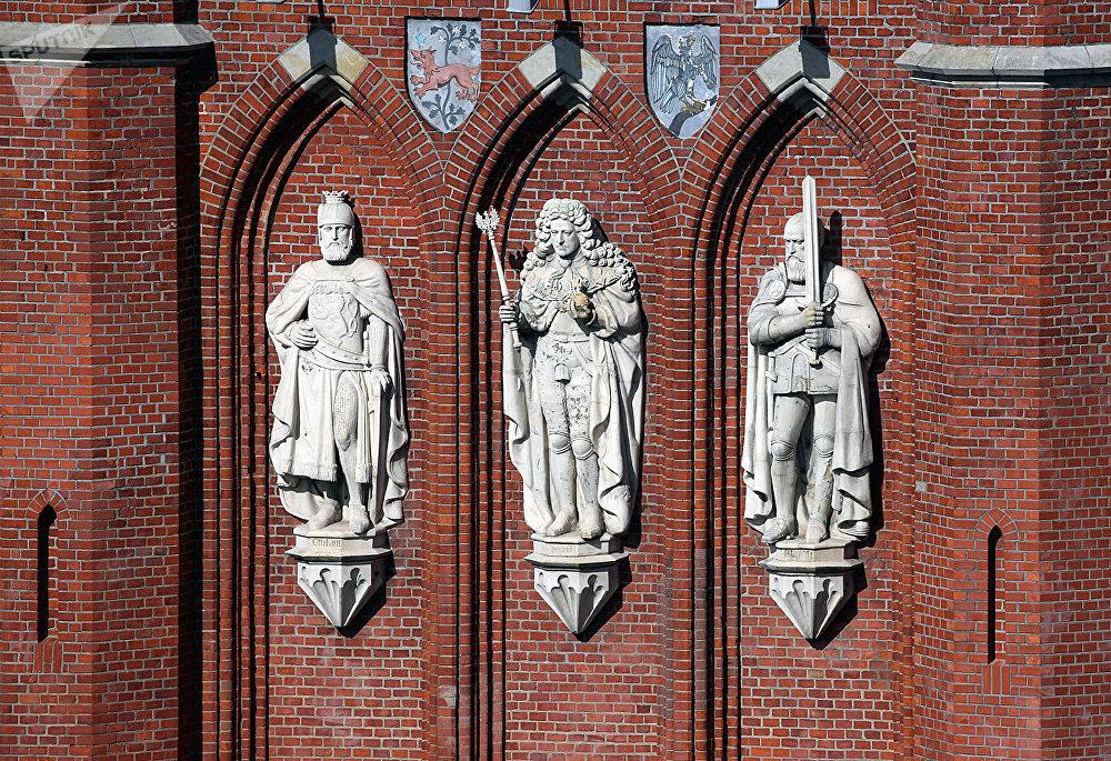 Фасад Королевских ворот