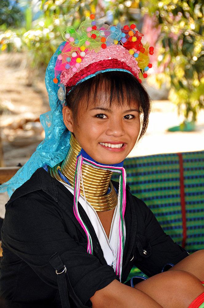 Женская красота по-мьянмански