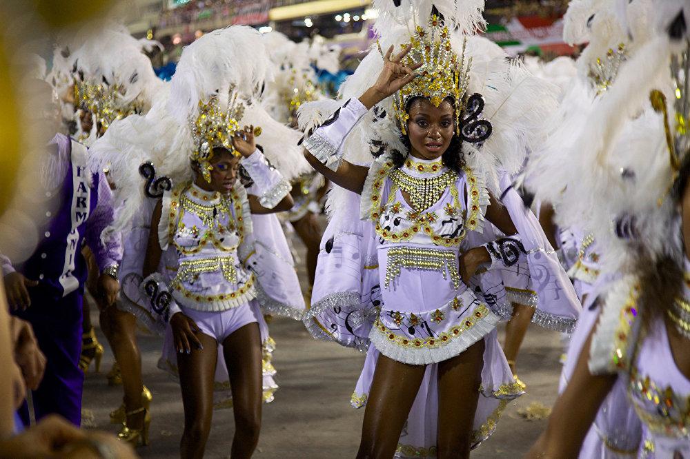 Карнавал в Рио де Жанейро. Бразилия