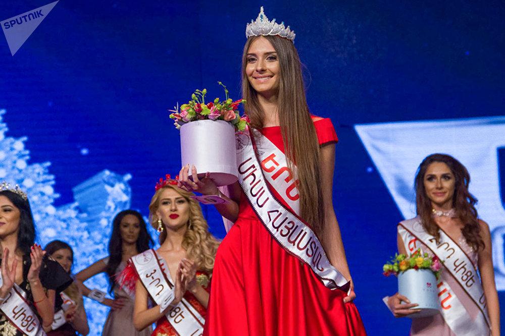 Победительница конкурса красоты Мисс Армения - 2017