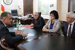 Анатолий Бибилов: Южная Осетия готова отстаивать интересы жителей и выходцев Тырсыгома на всех возможных уровнях