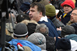 Ситуация в Киеве в связи с задержанием М. Саакашвили