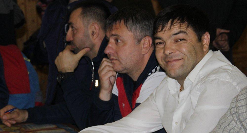 Директор детско-юношеской школы бокса  Мурат Кокоев
