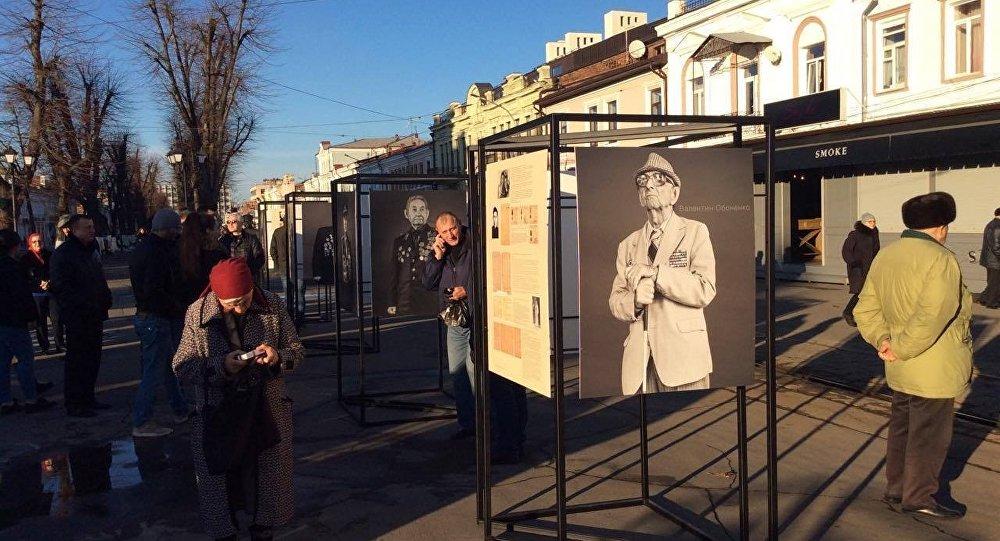 Во Владикавказе открылась выставка Алисы Гокоевой Пишите письма 75-й годовщине Битвы за Кавказ