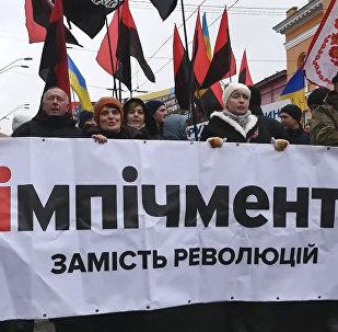 50 тысяч человек: сторонники Саакашвили вышли на марш