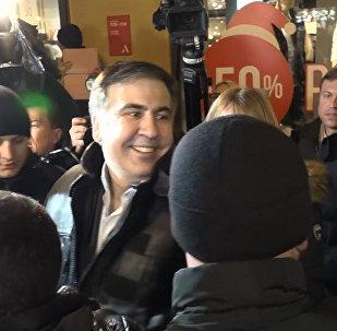 Они хотели запугать нас: Саакашвили выступил перед сторонниками