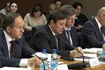 Межправкомиссия в Цхинвале: кадры заседания