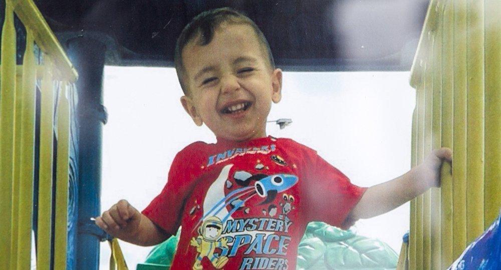 Двухлетний Айлан Курди