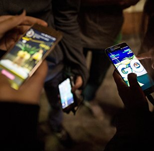 Игроки Pokemon GO в Новосибирске