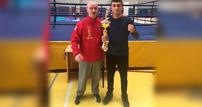 Алан Хугаев стал лучшим боксером чемпионата Осетии