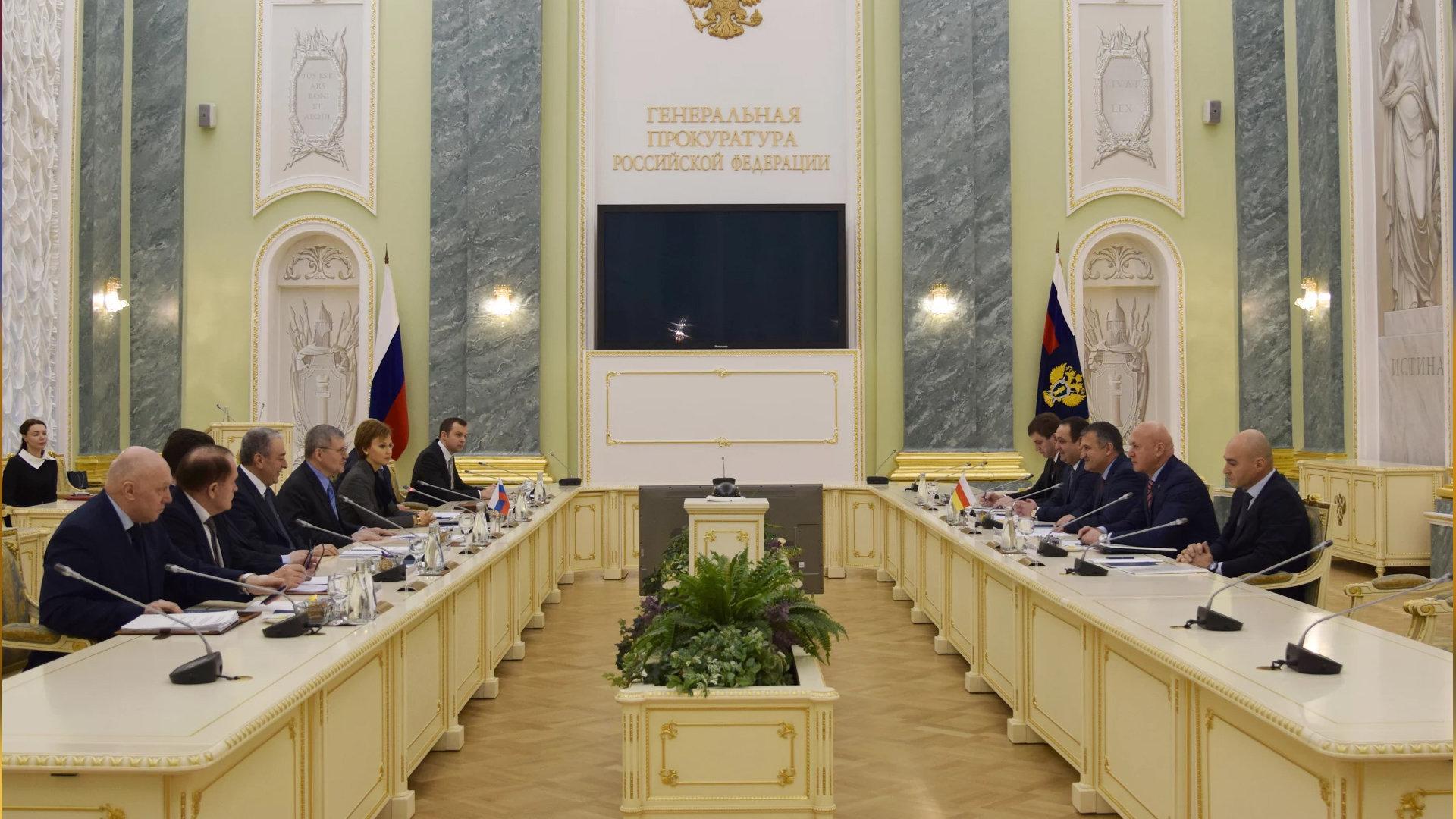 Встреча Президента РЮО с Генеральным прокурором РФ