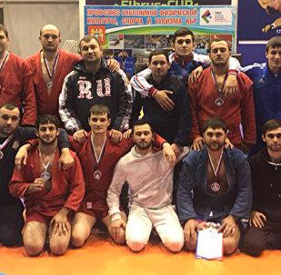 Сборная Северной Осетии заняла первое место на чемпионате Северо-Кавказского федерального округа по самбо